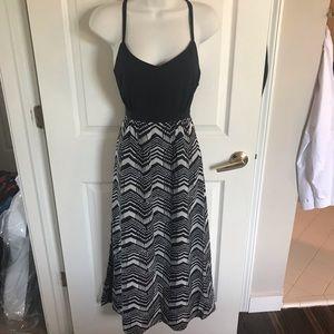 J. Crew Factory maxi dress printed skirt, Size 4P